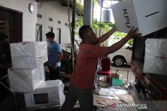 KPU Surakarta mulai distribusikan logistik Pilkada 2020