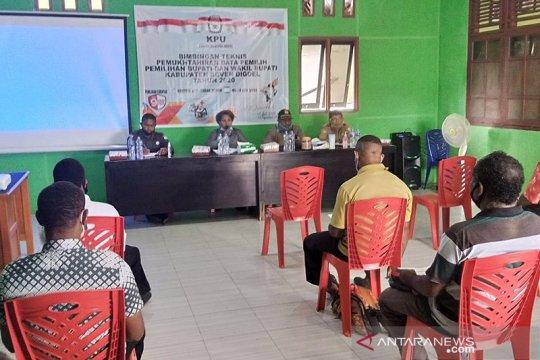 KPU Papua: 1.284 surat suara rusak untuk Boven Digul diganti