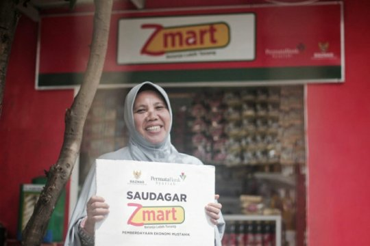 Baznas - Bank Permata Syariah berdayakan ekonomi mikro