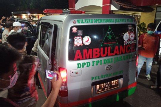 Hoaks! Foto jenazah anggota FPI yang ditembak polisi
