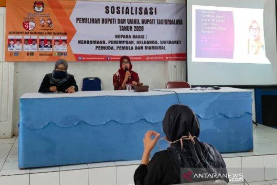 KPU Kabupaten Tasikmalaya sosialisasikan aman datang ke TPS