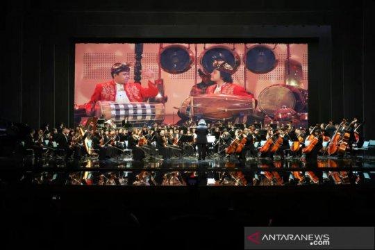 Kolaborasi Gamelan Wonogiri-Guangxi Orchestra tampil di Guilin