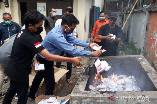 KPUD Kabupaten Jember musnahkan 36.730 surat suara rusak