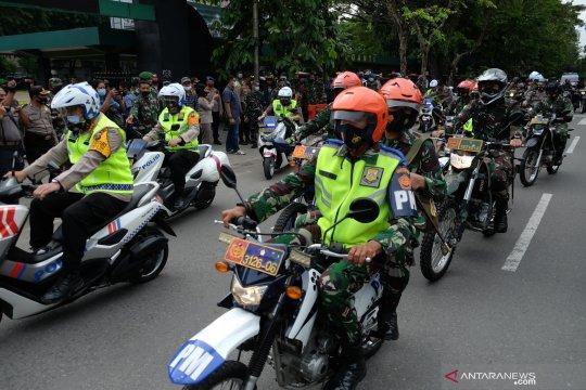Patroli bersama TNI Polri untuk pengamanan Pilkada