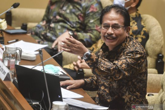 Raker Komisi II DPR dengan Menteri ATR/BPN