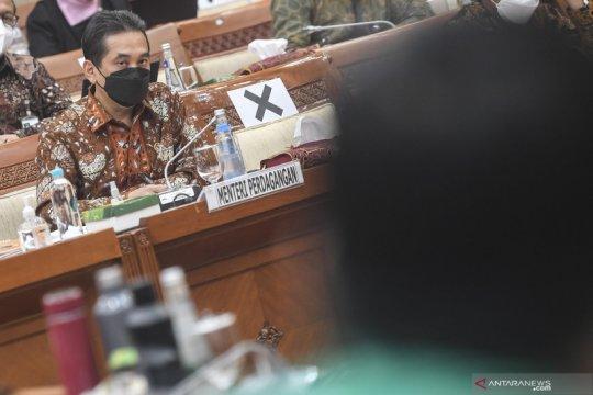 Raker Komisi VI DPR  dengan Mendag