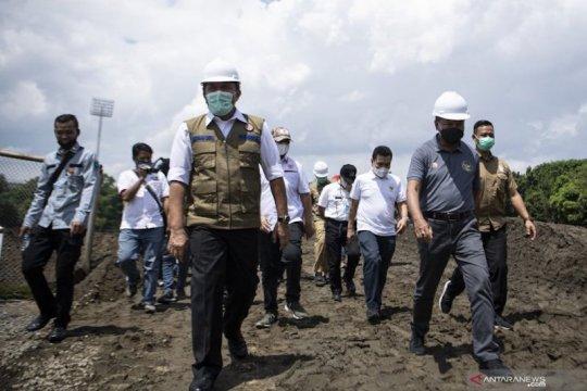 Gubernur Sumsel janjikan perbaikan venue Piala Dunia kelar Maret 2021