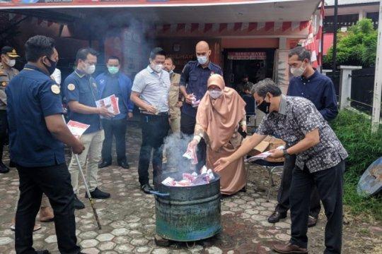 KPUD Medan musnahkan 5.312 surat suararusak