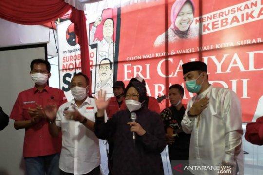 Tri Rismaharini minta warga Surabaya kembali bersatu