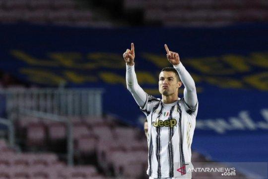 Ronaldo antar Juventus tuntaskan revans atas Barcelona