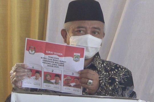Cabup petahana ajak warga Kabupaten Malang gunakan hak pilih