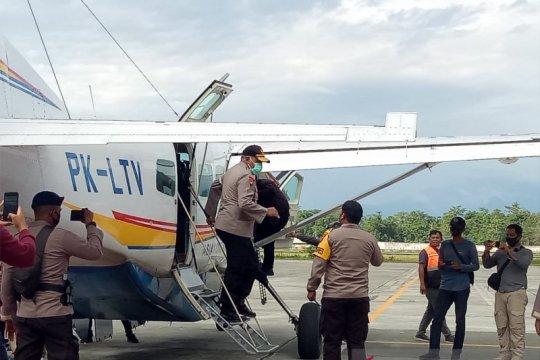 Kapolda Papua pantau langsung pilkada di Yahukimo dan Asmat