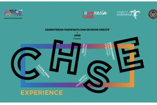 Kemenparekraf dan APMI sosialisasi penerapan CHSE untuk sejumlah acara