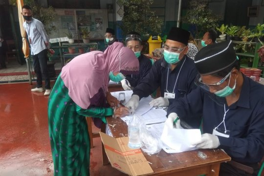 Round up: Pilkada Pandeglang berjalan lancar
