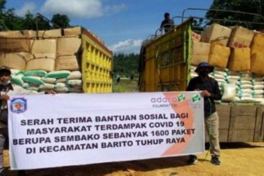 AMC bagikan 3 ribu paket sembako untuk 16 desa di Kalteng