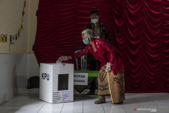 TPS di pengungsian Gunung Merapi