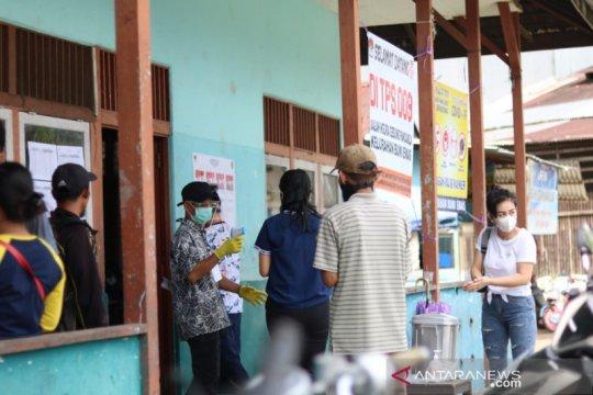 Warga perbatasan antusias salurkan hak pilih di Pilkada Bengkayang