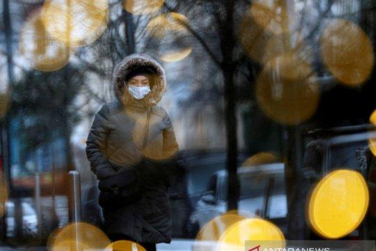 Ukraina catat rekor kasus, kematian harian COVID