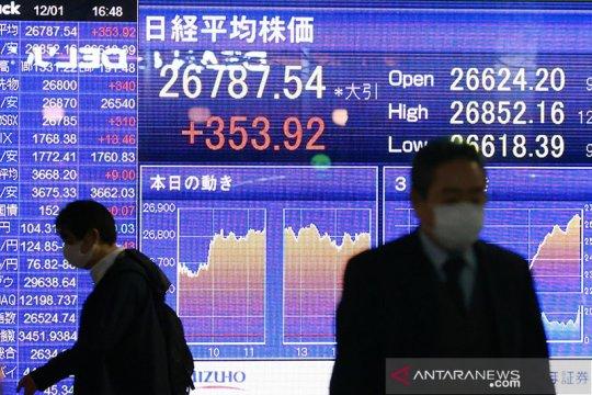 Saham Tokyo dibuka sedikit lebih tinggi terdorong paket stimulus AS