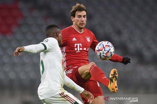 Gelandang Bayern Goretzka cedera, absen di Piala Jerman