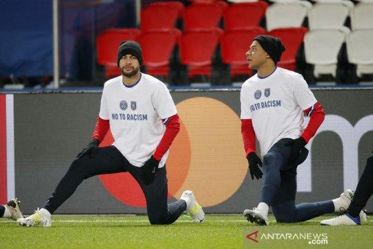 Presiden PSG pede bisa perpanjang kontrak Neymar dan Mbappe
