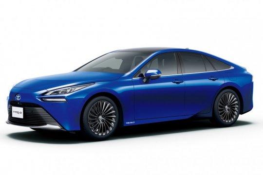 Toyota Mirai generasi baru berdaya jelajah lebih jauh