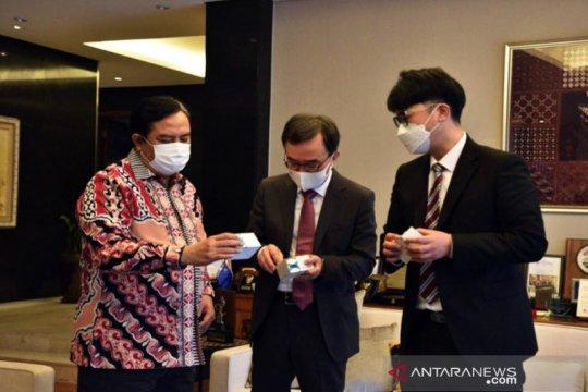 Perusahaan Korea Selatan kirim bantuan COVID-19 untuk Indonesia