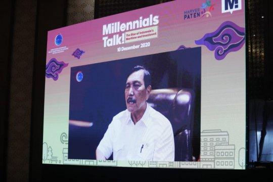 Menko Luhut: Generasi millenial agen potensial untuk dorong investasi