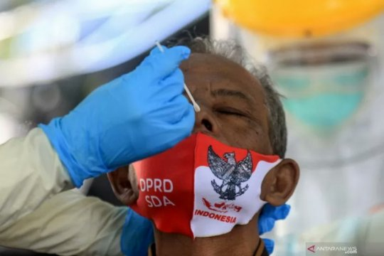 Kasus positif COVID-19 di Indonesia bertambah 6.848 kasus