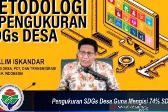 Gus Menteri beberkan metodologi pengukuran SDGs Desa