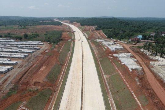 Bangkitkan ekonomi, Hutama Karya kejar konstruksi tol pertama Bengkulu