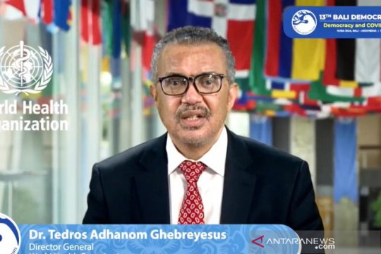 Dirjen WHO tunggu kepemimpinan Indonesia di G20 pada 2022