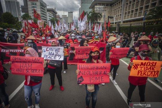 Aksi peringatan Hari HAM Internasional