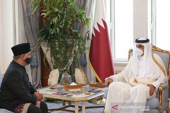 Duta Besar RI serahkan surat kepercayaan kepada Amir Qatar