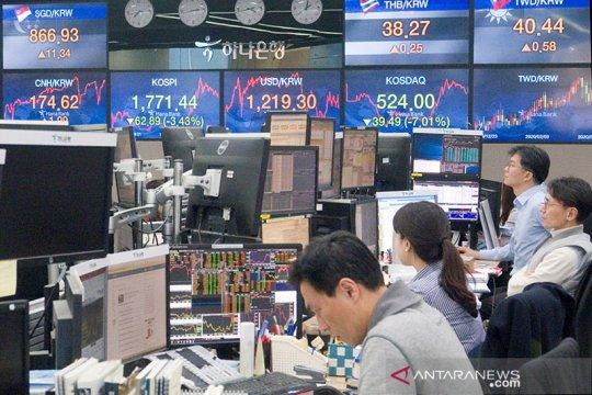 Mata uang Asia menguat ketika dorongan stimulus AS menekan dolar