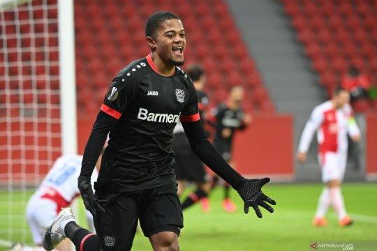 Leverkusen tutup penampilan fase grup dengan kemenangan atas Slavia