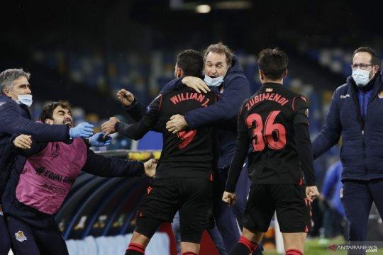 Sociedad ke babak 32 besar saat AZ terpeleset di markas Rijeka