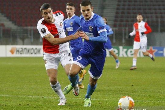 Langkah Feyenoord di Liga Europa terhenti di tangan Wolfsberger