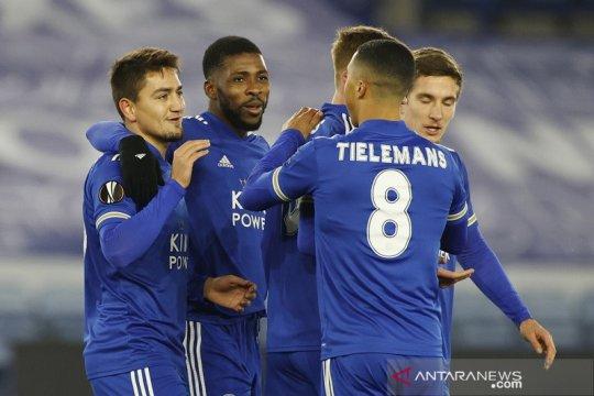 Leicester dan Braga tutup fase grup dengan kemenangan identik 2-0