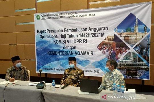 Kemenag-DPR bahas mitigasi penyelenggaraan haji 2021