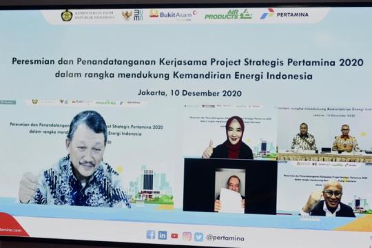 Proyek DME disepakati, Menteri: Ini milestone hilirisasi batu bara