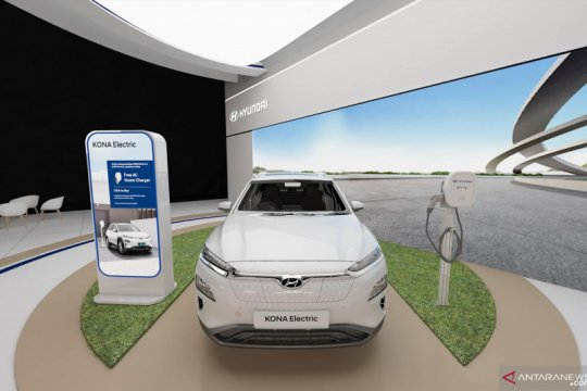 IONIQ hingga KONA bakal mejeng di Hyundai Virtual Motor Show