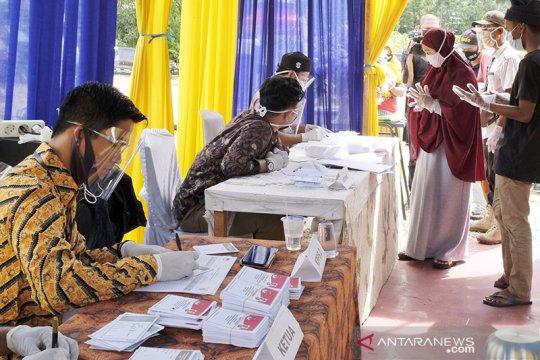 Di tengah pandemi, partisipasi pemilih pilkada di Riau naik