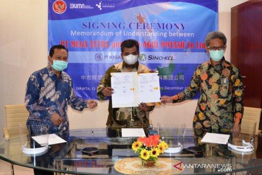 Mega Eltra gandeng perusahaan laos untuk pembelian bahan baku pupuk