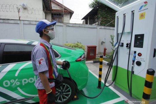 Pertamina tambah stasiun pengisian daya dorong ekosistem EV