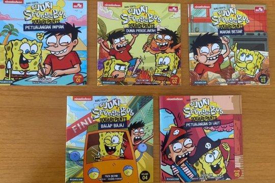 "Seri buku cerita ""Si Juki x SpongeBob SquarePants"" dirilis"