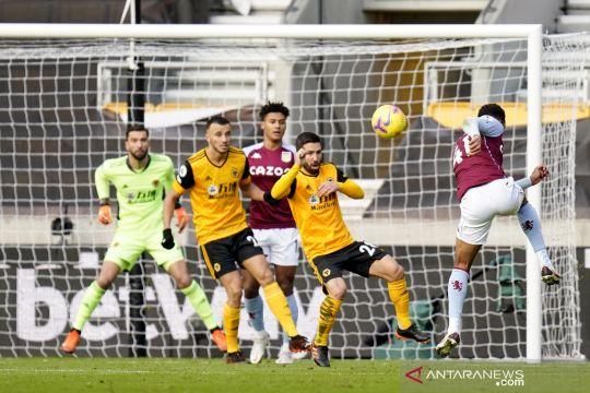 Liga Inggris: Babak I Wolverhampton Wanderers vs Aston Villa 0-0