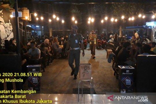 Dua kafe di kawasan Kembangan kena sanksi PSBB akibat langgar prokes