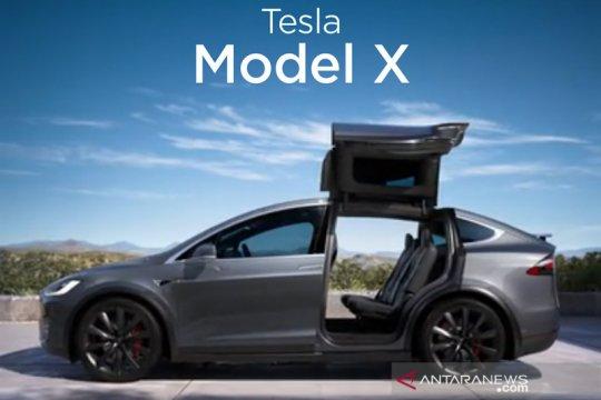 Regulator China ingatkan Tesla soal baterai terbakar