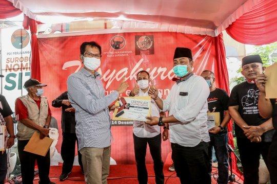 PDIP Surabaya ajak sukarelawan kawal Eri-Armuji sampai tuntas